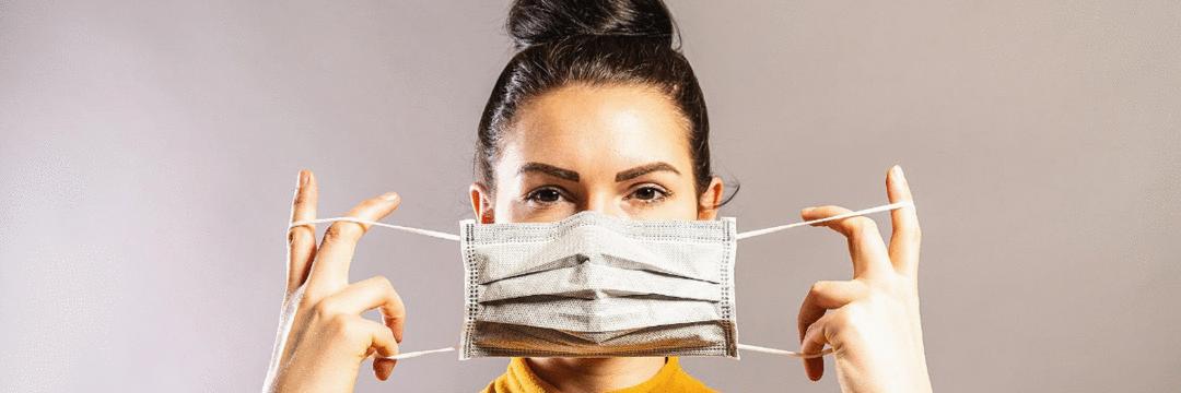 Recomendações para o uso de máscara caseira