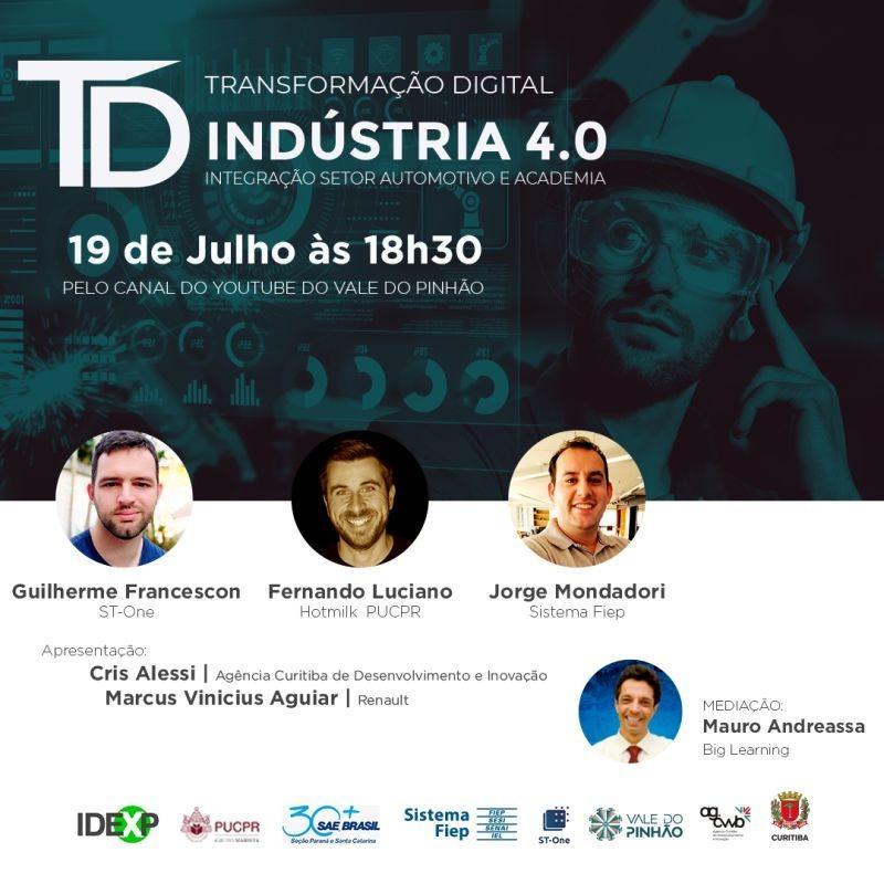 Webinar Transformação Digital Indústria 4.0