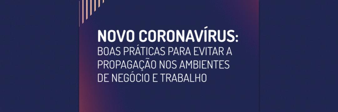 Guia traz boas práticas para impedir a propagação de COVID-19 nos ambientes de trabalho