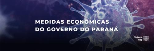 Medidas econômicas do governo do Paraná