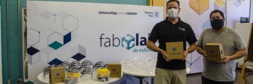 Sistema Fiep já entregou mais de 21 mil máscaras para profissionais de saúde de todo o Paraná
