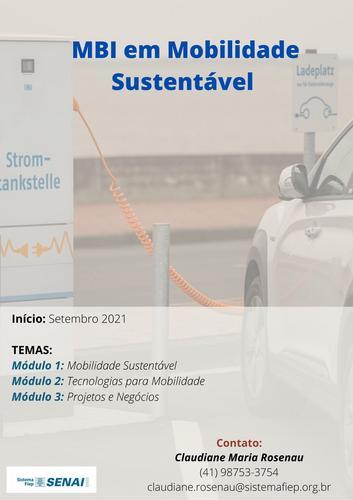 MBI em Mobilidade Sustentável